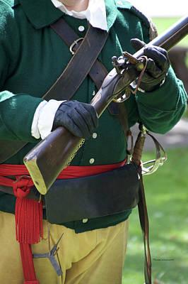 Revolutionary War Mixed Media - Firearms Military Revolutionary War 06 by Thomas Woolworth