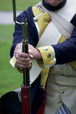 Revolutionary War Mixed Media - Firearms Military Revolutionary War 07 by Thomas Woolworth