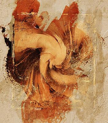 Creativity Mixed Media - Firefly Urban Abstract by Georgiana Romanovna