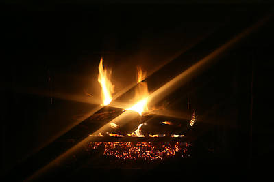 Fireplace Original by Ellen Henneke