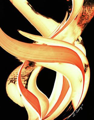 Firewater 3 Print by Sharon Cummings