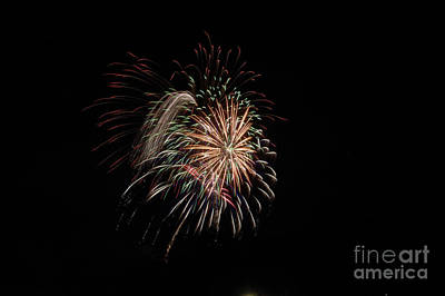 Photograph - Fireworks 2 by Janie Johnson