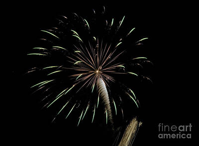 Photograph - Fireworks 3 by Janie Johnson