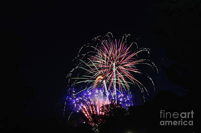 Photograph - Fireworks 4 by Janie Johnson