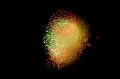 Fireworks  Print by Brynn Ditsche