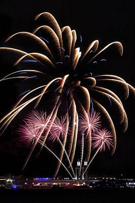 Fireworks Festivities Print by Andrew Soundarajan