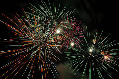 Fireworks Print by Glenn Gordon