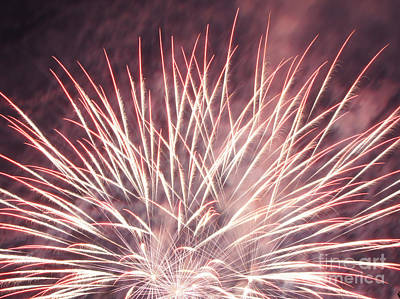 Photograph - Fireworks by Robert E Alter Reflections of Infinity
