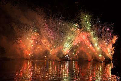 Fireworks Print by Zina Stromberg