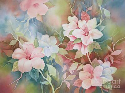 First Blush Print by Deborah Ronglien