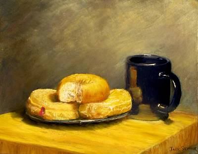 Painting - First Call...breakfast by Jack Skinner