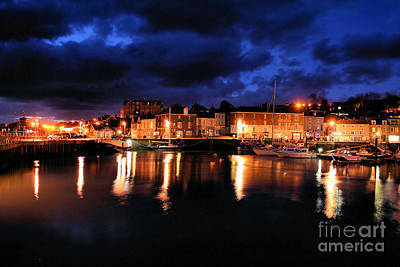 First Light At Padstow Print by Carl Whitfield