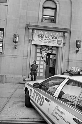 New York Cops Photograph - First Precinct Nyc by Robert Lacy