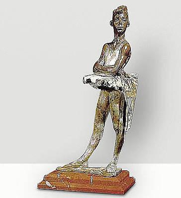 Richard Macdonald Sculpture - First Ribbons by Richard MacDonald