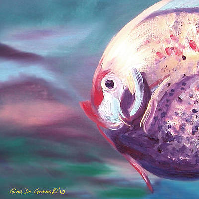 Fish Print by Gina De Gorna