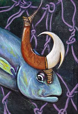 Fish Hook Original by Kelly Morgan