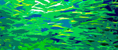 Colorful Tropical Fish Digital Art - Fish In The Sea by David Lee Thompson