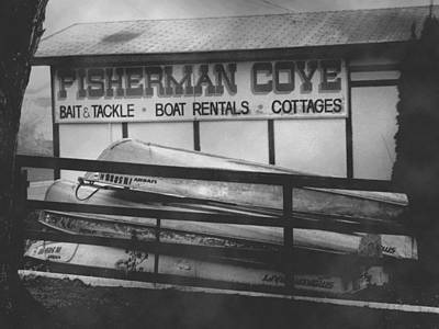 Indiana Landscapes Photograph - Fisherman Cove by Michael L Kimble