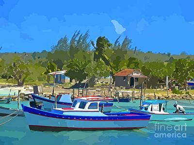 Fisherman's Paradise Original by John Malone