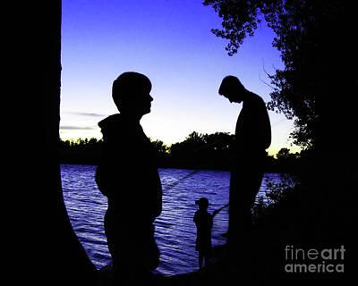 Fishin Buddies Original by Terril Heilman