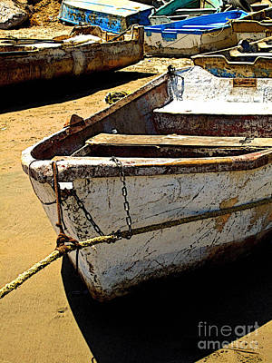 Mazatlan Photograph - Fishing Boat At Rest by Mexicolors Art Photography