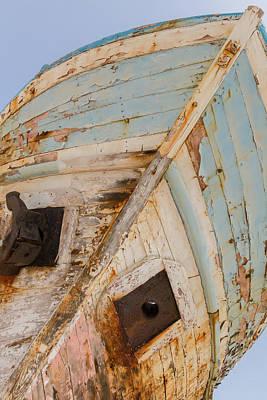 Cyprus Photograph - Fishing Boat Wreck In Latsi 2 by Iordanis Pallikaras