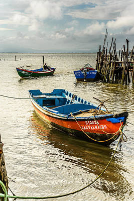 Fishing Boats Original by Marco Oliveira