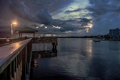 Fish Photograph - Fishing Nights by Michael Frizzell