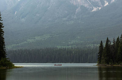 Canadian Sports Photograph - Fishing On Pyramid Lake by Cale Best