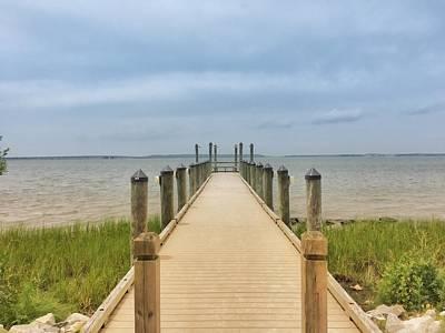 Beach Photograph - Fishing Pier by Chris Montcalmo