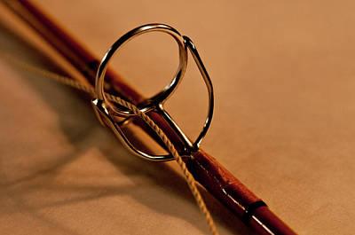 Fishing Pole Ring Print by Wilma  Birdwell