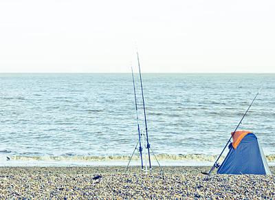 Angling Photograph - Fishing by Tom Gowanlock