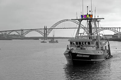 Fishing Vessel Returning To Port Newport Or.- 2 Original by Gino Rigucci