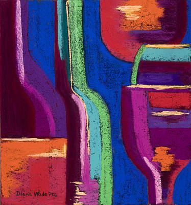 Five O'clock Somewhere #4 Original by Diana Wade