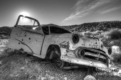 Wrecked Cars Photograph - Fixer Upper by Bob Christopher