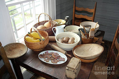 Fixin Supper Print by Joy Tudor