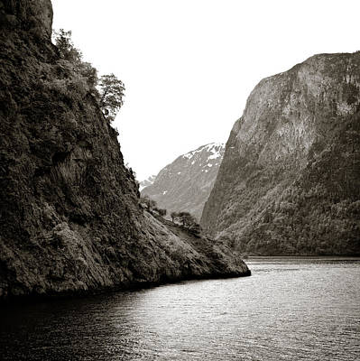 Fjord Beauty Print by Dave Bowman