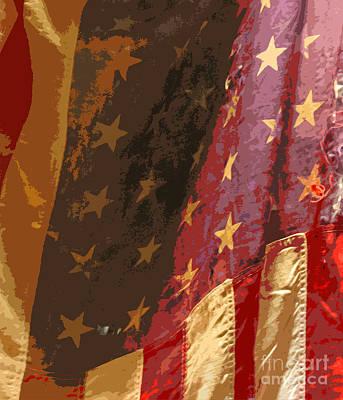 Flag 16 Print by Gary Everson