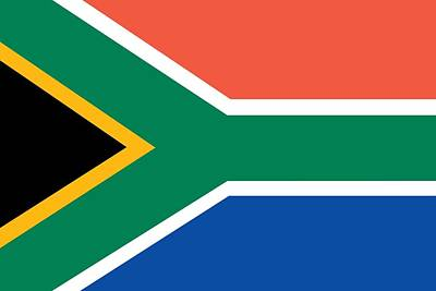 Flag Of South Africa Print by Unknown