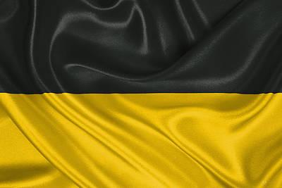 Flag Of The Habsburg Monarchy Print by Serge Averbukh