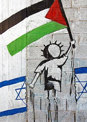 Aida Photograph - Flags by Munir Alawi