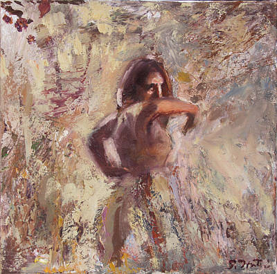 Flamenca Fury Original by Susanne Forestieri
