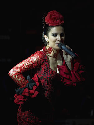 Earrings Photograph - Flamenco Singer 2 by Kenton Smith