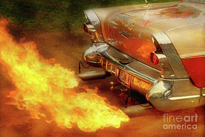 Muffler Photograph - Flam'n by Joel Witmeyer