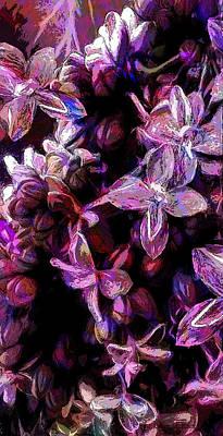 Flash Of Floral Print by Jo-Anne Gazo-McKim