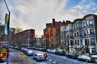 Flatbush Ave In Brooklyn Print by Randy Aveille