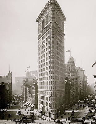 Flatiron Building Print by American School