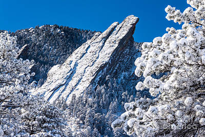 Photograph - Flatirons - The Majestic Third by Greg Summers