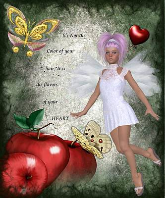 Flavors Of Your Heart Print by Morning Dew