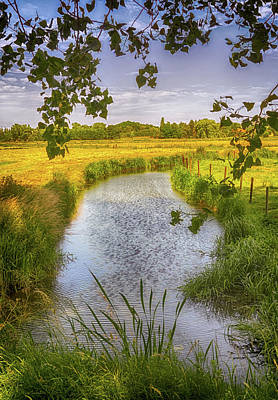 Spring Scenery Photograph - Flemish Creek by Wim Lanclus